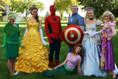 Character Super Hero Princess Kids Party Entertainment Atlanta Birthday Ideas Princess Parties Cartoon Characters In Ga