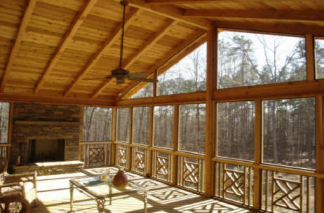 atlanta ga porch contractors we do it all low cost screened in porches builders install build covered patio front back porch builder
