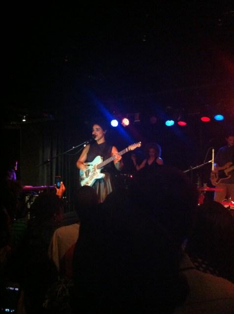 Lianne La Havas at the Loft on April 13, 2013.