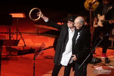 The Monkees performing live at Atlanta Symphony Hall on October 8, 2021, in Atlanta, Georgia.