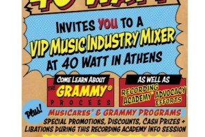 VIP Music Industry Mixer at the 40 Watt Club