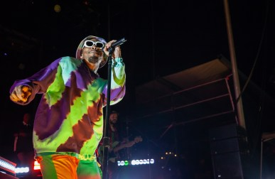 ATLANTA, GEORGIA - OCTOBER 13: Anderson .Paak performs during day 2 of AFROPUNK Music Festival at Atlanta 787 WINDSOR on October 13, 2019 in Atlanta, Georgia. Photo: Ryan Fleisher/imageSPACE Anderson Paak