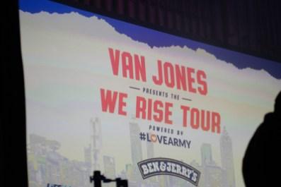 Van Jones We Rise Tour