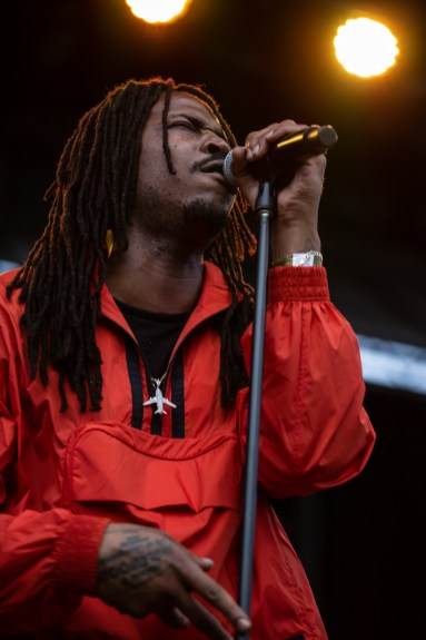ATLANTA, GEORGIA - OCTOBER 12: SIR performs during day 1 of AFROPUNK Music Festival at Atlanta 787 WINDSOR on October 12, 2019 in Atlanta, Georgia. Photo: Ryan Fleisher/imageSPACE