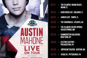 Austin Mahone & Bullet For My Valentine Heading to the Tabernacle!