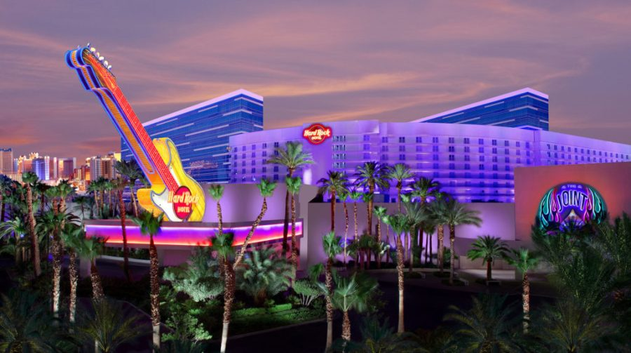 The Hard Rock Hotel in Las Vegas. The company announced Atlanta will get its own Hard Rock Hotel in 2018.