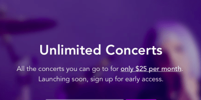Jukely Unlimited Concerts