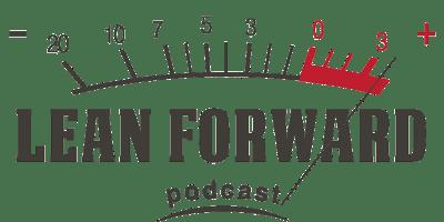 Lean Forward Podcast Logo