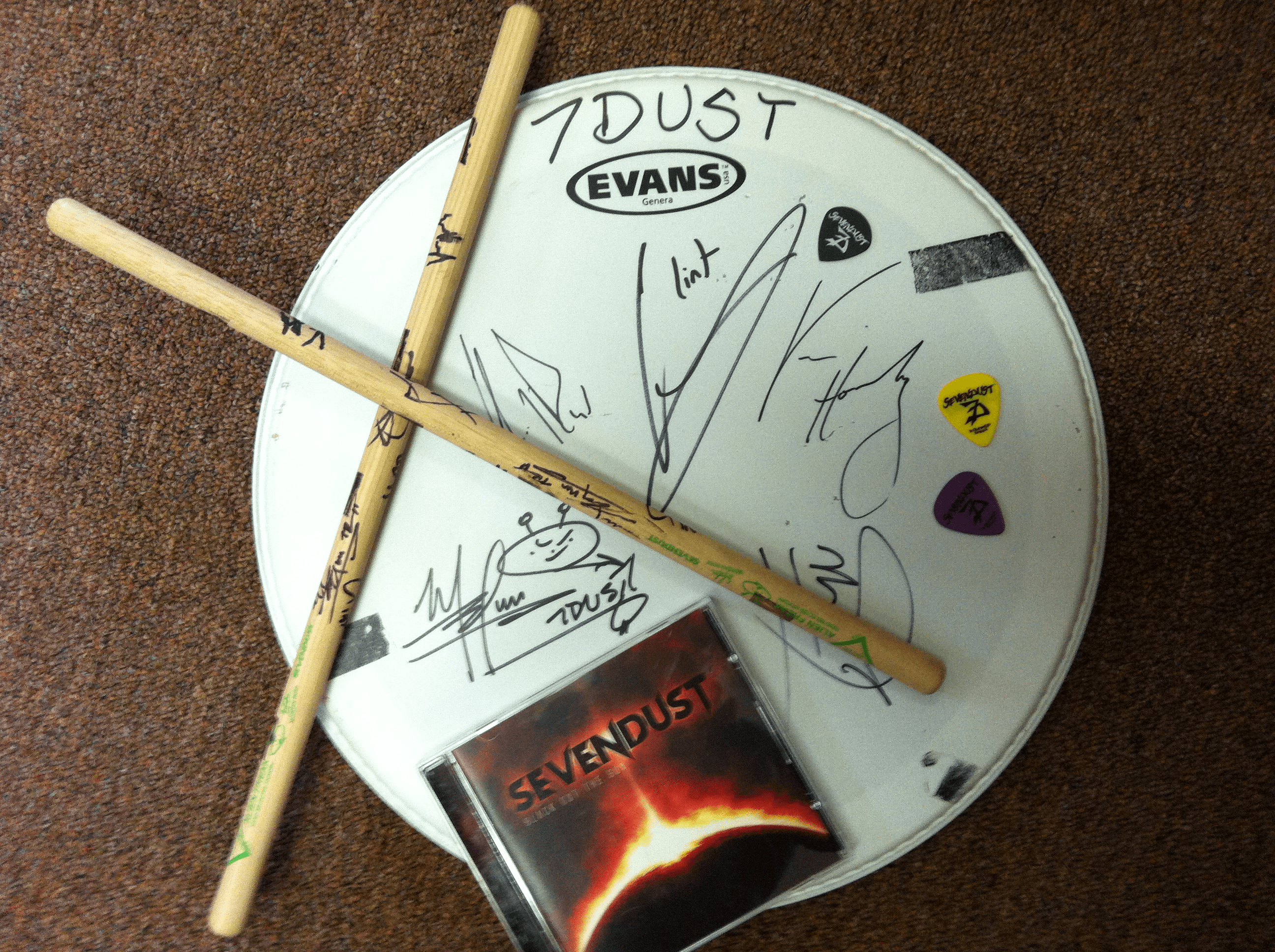 seven dust prize pack