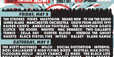 Shaky Knees Schedule
