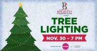 tree lighting at the battery atlanta