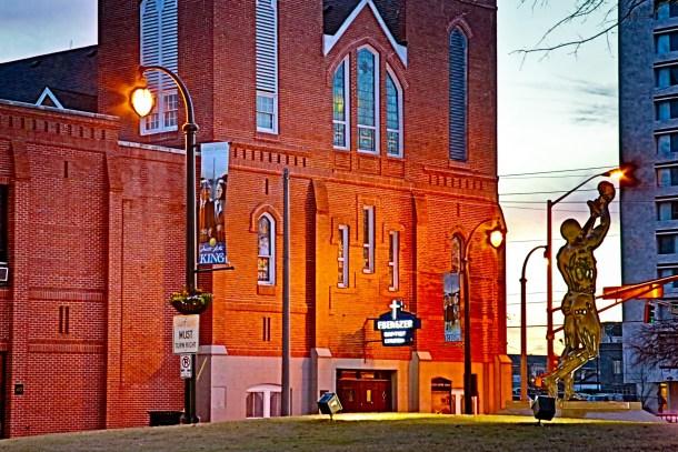 Visit Ebenezer Baptist Church in Atlanta on MLK Day