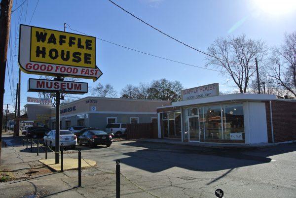 Waffle House Museum in Avondale Estates, GA, outside Atlanta