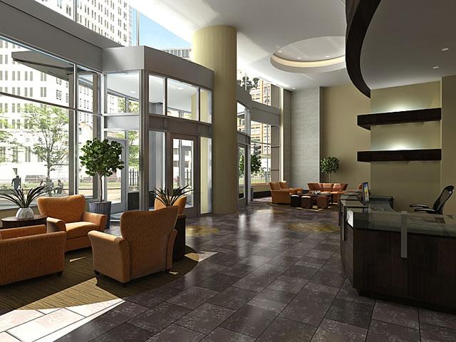 1010 Midtown Lobby