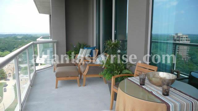 Gallery Buckhead 3 bedroom model terrace