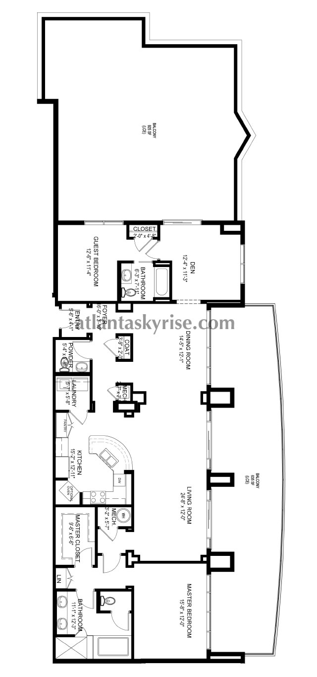 Luxe Midtown Penthouse 2201
