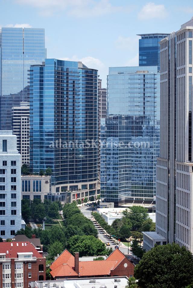 Midtown Atlanta Skyline atlantaSKYrise.com