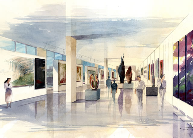 One Museum Place Gallery Space