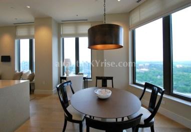 Mandarin Oriental Residences Atlanta 45A Breakfast Room