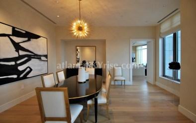 Mandarin Oriental Residences Atlanta 45A Dining Room 1