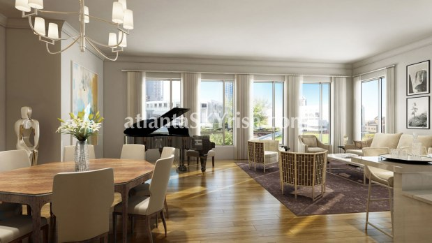 Unit 5F Interior Rendering