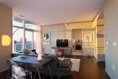 W Atlanta Residences 2304 Great Room 3
