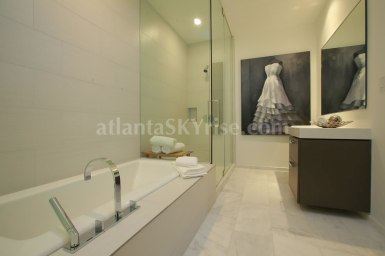W Atlanta Residences 2304 Master Bathroom 3