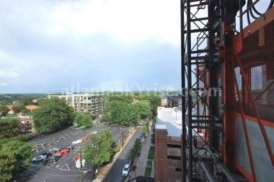 8th Floor Poplar Floor Plan - Terrace view.