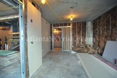 Wilson Floor Plan - In the master bedroom standing in front of the sliding glass doors looking toward the master bathroom.