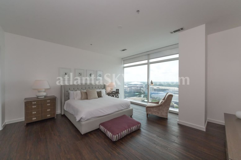 W Residences 45 Ivan Allen Penthouse 2703 Bedroom 1
