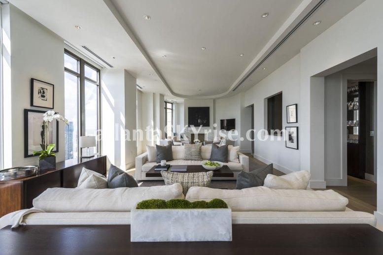 Mandarin Oriental Residences Atlanta Unit 39 Great Room 4