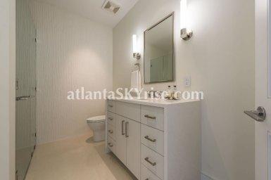 Mandarin Oriental Residences Atlanta Unit 39 Guest Bathroom One