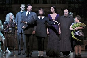 The Addams Family msuical at Atlanta's Fox Theatre