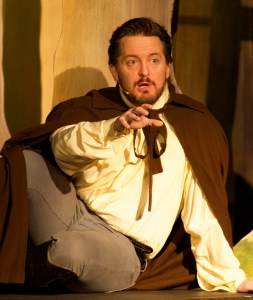 Bryant Smith as Arthur in Camelot. Photo by Dan Carmody/Studio 7