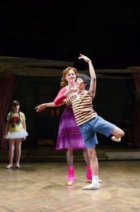Leah Hocking in Billy Elliot the Musical at Atlanta's Fox Theatre