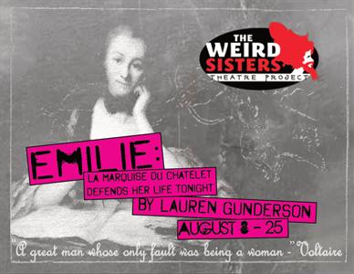 Emilie: La Marquise Du Châtelet Defends Her Life Tonight