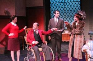 Atlanta's Georgia Ensemble Theatre presents The Man Who Came to Dinner