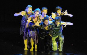 The Cast of Pippin Perform at Legacy Theatre