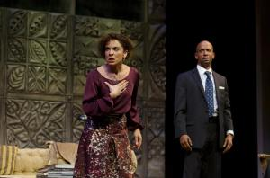 Jasmine Guy in the Alliance Theatre production of God of Carnage