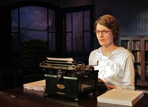 Elisa Carlson in Ghost-Writer at Theater in the Square
