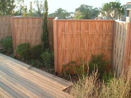 panneaux cloture palissade barriere