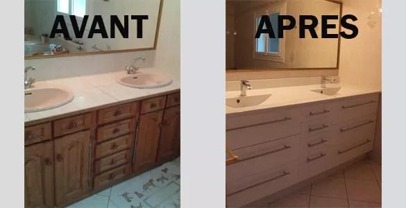de salle de bain avant