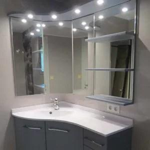 Miroir Avec Rangement Atlantic Bain
