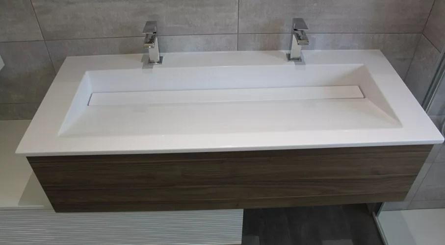 Plan De Toilette Sur Mesure Pour Salle De Bains Atlantic Bain