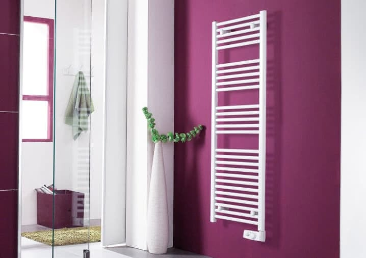 bathroom heating with electric towel rails Atlantic
