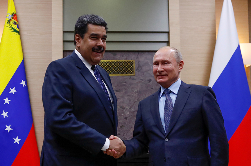 Containing Russian influence in Venezuela