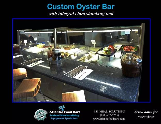 Atlantic Food Bars - Custom 8' Oyster Shucking Case 2