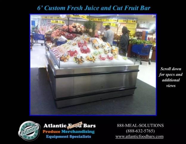 Atlantic Food Bars - Custom Fresh Juice and Cut Fruit Bar 1