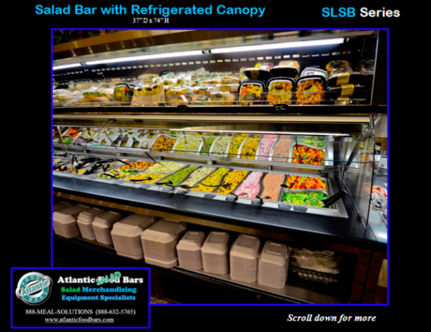 Atlantic Food Bars - Salad Bar and Soup's On with Refrigerated Canopy - SLSB19236 and SOG4836-RC_Page_5