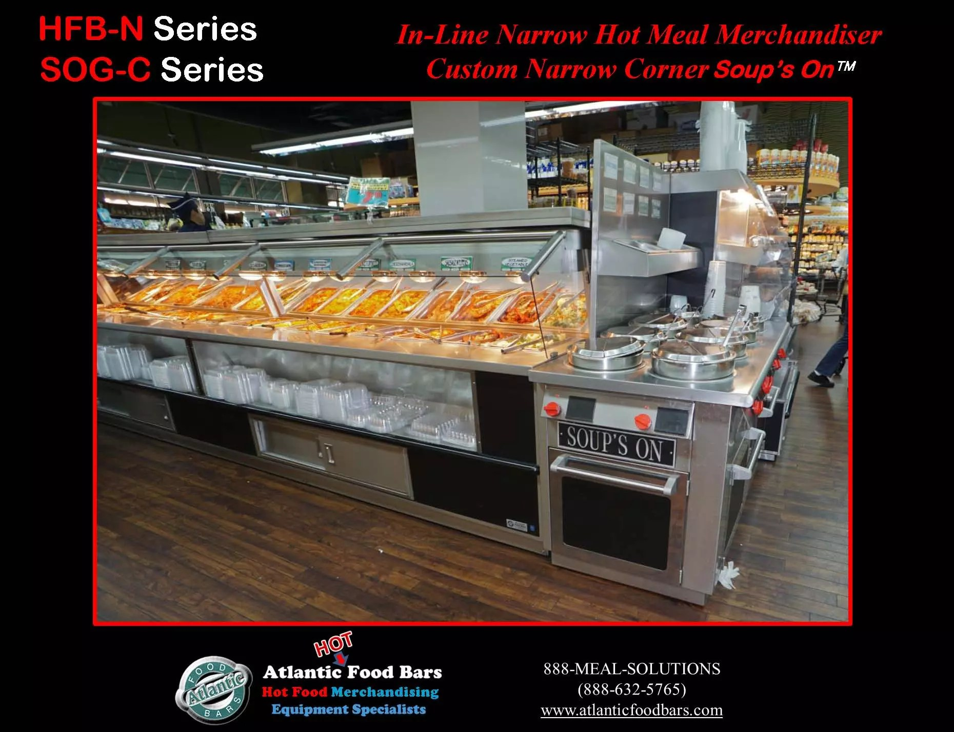 Atlantic Food Bars Hot Cold Self Serve Meal Center The